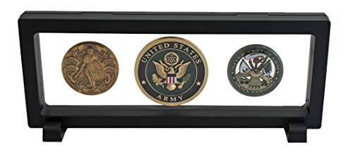 3D-Floating-Frame-Shadow-Box-Medallion-Medal-Challenge-Coin-Chip-Display-Case-Stand-Holder-Magic-Suspension-Box-Black-Rectangular-Shape