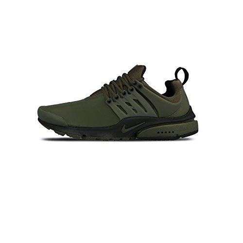 NIKE Air Presto Low Utility Mens Running Shoes Cargo Khaki/Cargo Khaki-black UEMOJW6