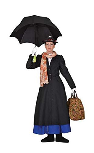 Tabi's Characters Iconic Mary Poppins Costume- Theatrical Quality (Large) ()