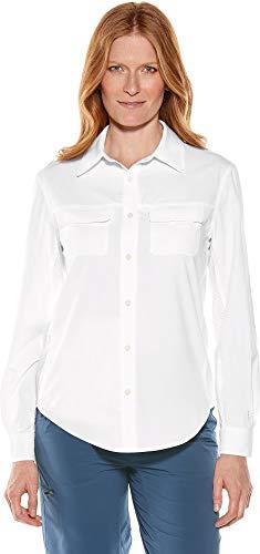 Coolibar UPF 50+ Womens Travel Shirt - Sun Protective
