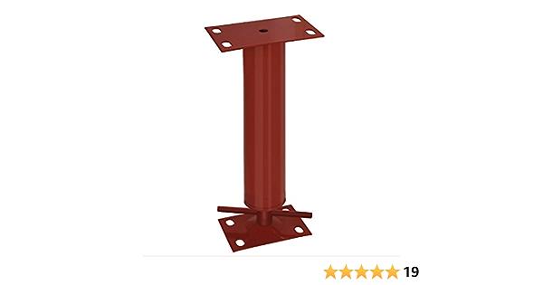 Adjustable Steel Building Column 4 OD 11 Gauge 4 Adjustment Range