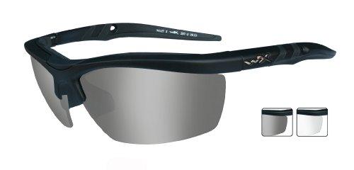 Wiley X Guard 4004 Lot de 2 lunettes de protection Noir mat Taille M/L