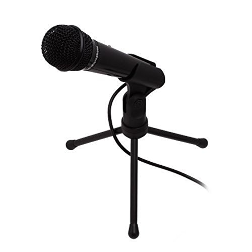 Professional-Condenser-Microphone-With-3-Legs-Tripod-Stand-for-PC-Laptop-Skype-MSN-QQ-Gaming-or-YouTube-Recording-SF-910-Black
