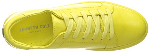 Kenneth Cole New York Kvinna Kam Mode Sneaker Citron Läder