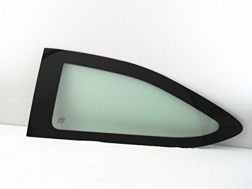 Coupe Quarter Glass - TYG Fits 2008-2011 Ford Focus 2 Door Coupe Driver Side Left Rear Quarter Glass