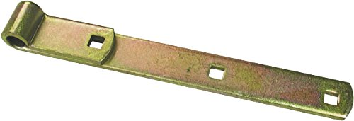 RanchEx 102533 Hinge Strap - Holes for Correcting Sag on Gates & Doors 12'' Length 5/8''