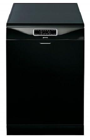 Smeg DFD6133BL - Lavavajillas (tamaño completo), color negro ...