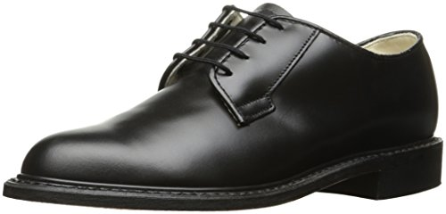Bates Women's Navy Premier Oxford Uniform Dress Shoe, Black, 9.5 W US