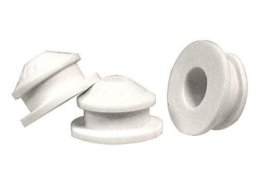 Stoppers Plastic (National Artcraft White PVC Plug fits 1/2 Inch Hole (Pkg/100))