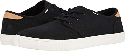 TOMS Men's, Carlo Casual Sneaker Black 12