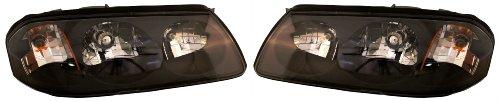 Chevy Impala 00 01 02 03 04 05 Headlight Headlamp Left and Right Pair Set (01 02 03 04 Headlamp)