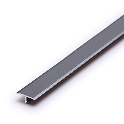 GWXFHT Threshold Strip T Type Aluminum Alloy Floor Decorative Strip Non-slip Threshold Strip Floor Edge Strip Doorway…