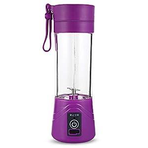 Frullatore Portatile Miscelazione 380ml Frullato Di Plastica Scuote Blender Estrattore Modalità Usb Ricaricabile… 12 spesavip