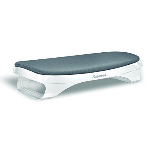 Fellowes I-Spire Series Foot Cushion/Rest, White/Gray (9311701) by Fellowes (Image #1)