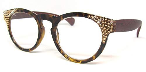 Splash Swarovski Reading Glasses (Tortoise Brown, 1.50)