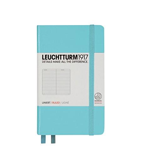 Leuchtturm Pocket Hardcover Lined Light Blue