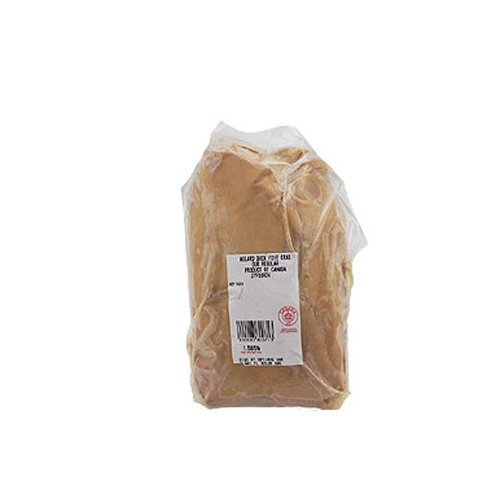 Canadian Whole Duck Foie Gras, Grade B - Approx. 1.8 lbs