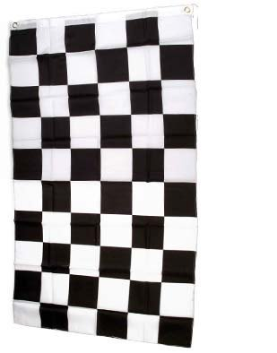 Auto Racing Checkered Flag (Large New 4x6 Race Auto Racing Flag Checkered Flags)