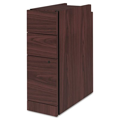 HON COMPANY * Narrow Box/Box/File Pedestal for 10500/10700 Series Shells, 28″ High, Mahogany, Sold as 1 Each