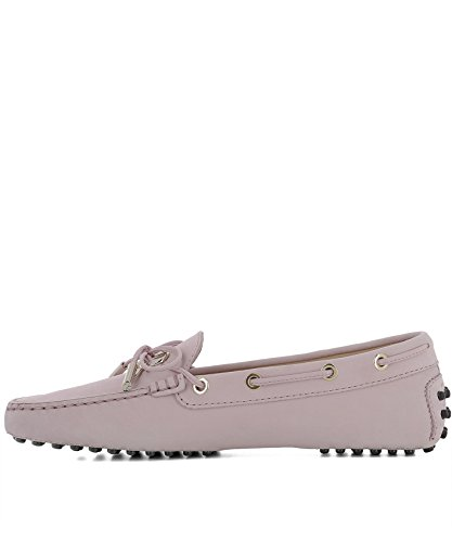 Tods Ladies Xxw0fw0x71006sl020 Mocassini In Camoscio Rosa
