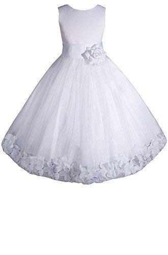 AMJ Dresses Inc Big/Little Girls Flower Girl Communion Pageant Wedding Easter Dress price tips cheap