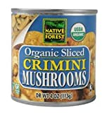 Native Forest Organic Sliced Crimini Mushrooms -- 4 oz