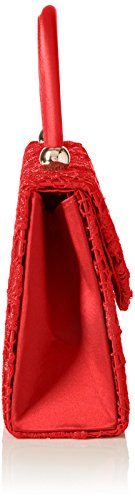 SwankySwans Kendall Lace Smart Elegant, Sacchetto Donna Rosso (Rosso (Red))