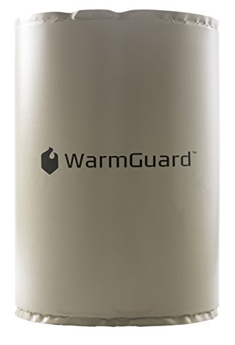 WarmGuard WG55F Insulated Full Coverage Drum Heating Blanket - Barrel Heater, Fixed Internal Thermostat Max Temp 145 F