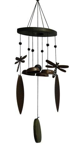 Cheap Jade Garden 3811110 2 Dragonflies Wind Chime with Bells