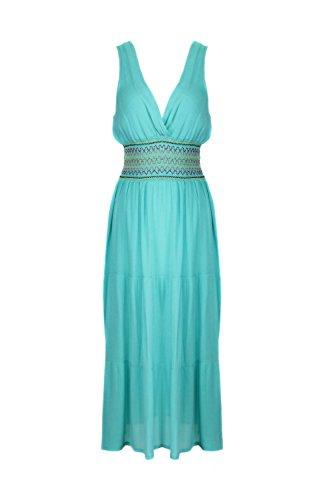 G2 Chic Women's Spring Summer Jersey Dress(DRS-CAS,LGNA1-L) (Purple Leopard Print Thigh Highs)