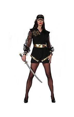 Horror-Shop Ninja Dragon Lady Costume Plus Size XL / 42 ...