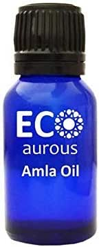 Amla Oil (Indian Gooseberry)100% Natural, Organic, Vegan & Cruelty Free Amla Essential Oil | Pure Amla Oil By Eco Aurous (0.33 oz, 10 ml)