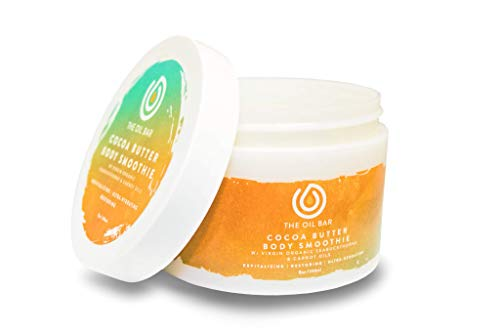 The Oil Bar Cocoa Butter Body Smoothie with Virgin Organic Seabuckthorn Fruit Oil (Chrome Legend Type M)