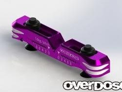 アジャスタブルアルミサスマウント Type-2(For OD/パープル) OD2480 B079SXVG2K