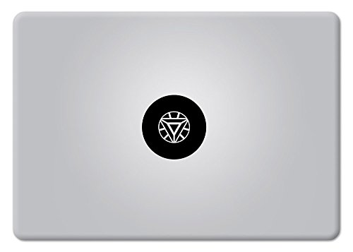 Iron Man Arc Reactor Superhero Apple macbook decal Laptop Ma