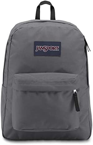 JanSport, Superbreak Backpack, 5L8 Deep Grey, One Size