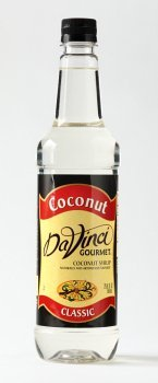 Da Vinci Classic Coconut Syrup, 25.4 Ounce, Plastic Bottle