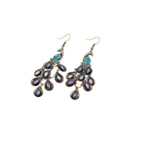 Beaute Galleria Peacock Fashion Earrings