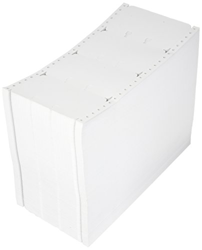 - Compulabel Pinfeed Rotary File Cards Fanfold 100 Pound, 92 Brightness, White (230455)