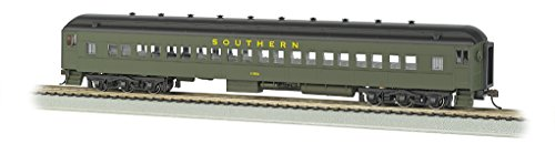 Bachmann Industries Ho Scale Southern #1050 72' Heavyweight Coach Car with Lighted (Scale Heavyweight Coach)