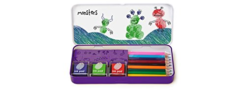 NPW-USA Finger Printing Monsters Art Set]()