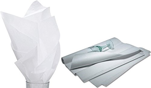 White Tissue Paper, 20 X 30 Premium Quality ~960 Sheets~ Machine glaze finish, Made in the USA. by SuitEase