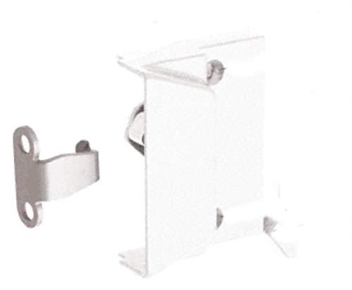 C.R. LAURENCE EP23056 CRL White Window Sash Lock With 2