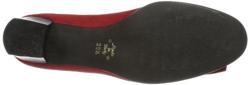 Couvert Femme à Pieds Diavolezza Rouge Celine Rouge du Avant Chaussures Talons 8AH04