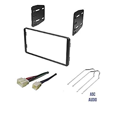ASC Car Stereo Radio Install Dash Kit, Wire Harness, and Radio Tool to Install a Double Din Aftermarket Radio for select Ford Lincoln Mazda Mercury Vehicles - Compatible Vehicles Listed Below: Car Electronics