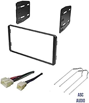 ford factory radio wiring 99e 250 amazon com asc car stereo radio install dash kit  wire harness  asc car stereo radio install dash kit