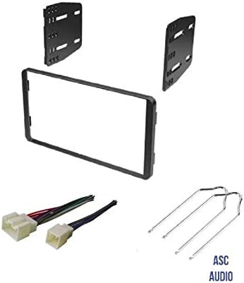 ASC Kit de instalación de radio estéreo para coche, arnés de cable ...