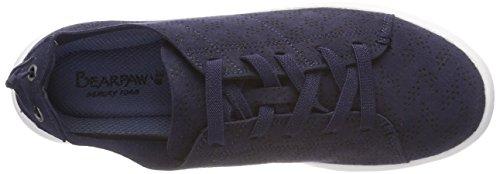 Navy Mujer Bearpaw Zapatillas Summer 310 Azul para wqAFfXxtA