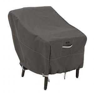 Classic Accessories Ravenna para silla de jardín, estándar, color gris