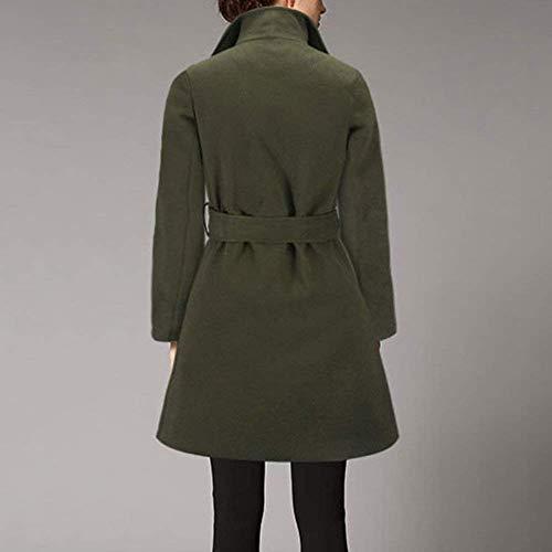 De Classique Trench Qualit Mode Uni Haute Manche Femme 7yZ6cZIrqX